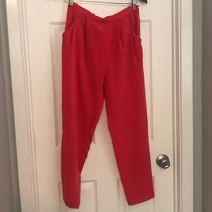 Calvin Klein coral jogger trousers